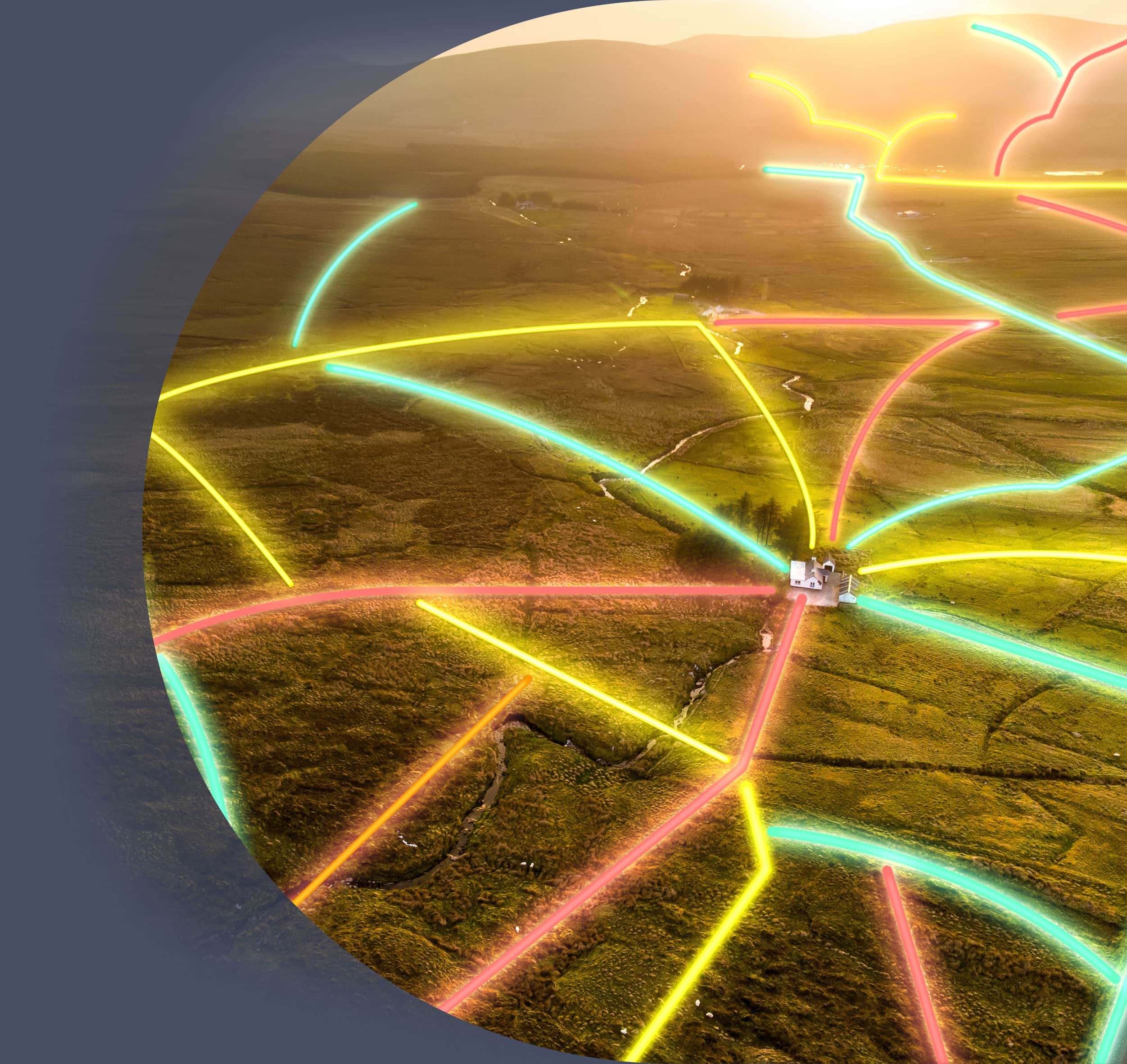 High speed broadband for homes in rural Ireland