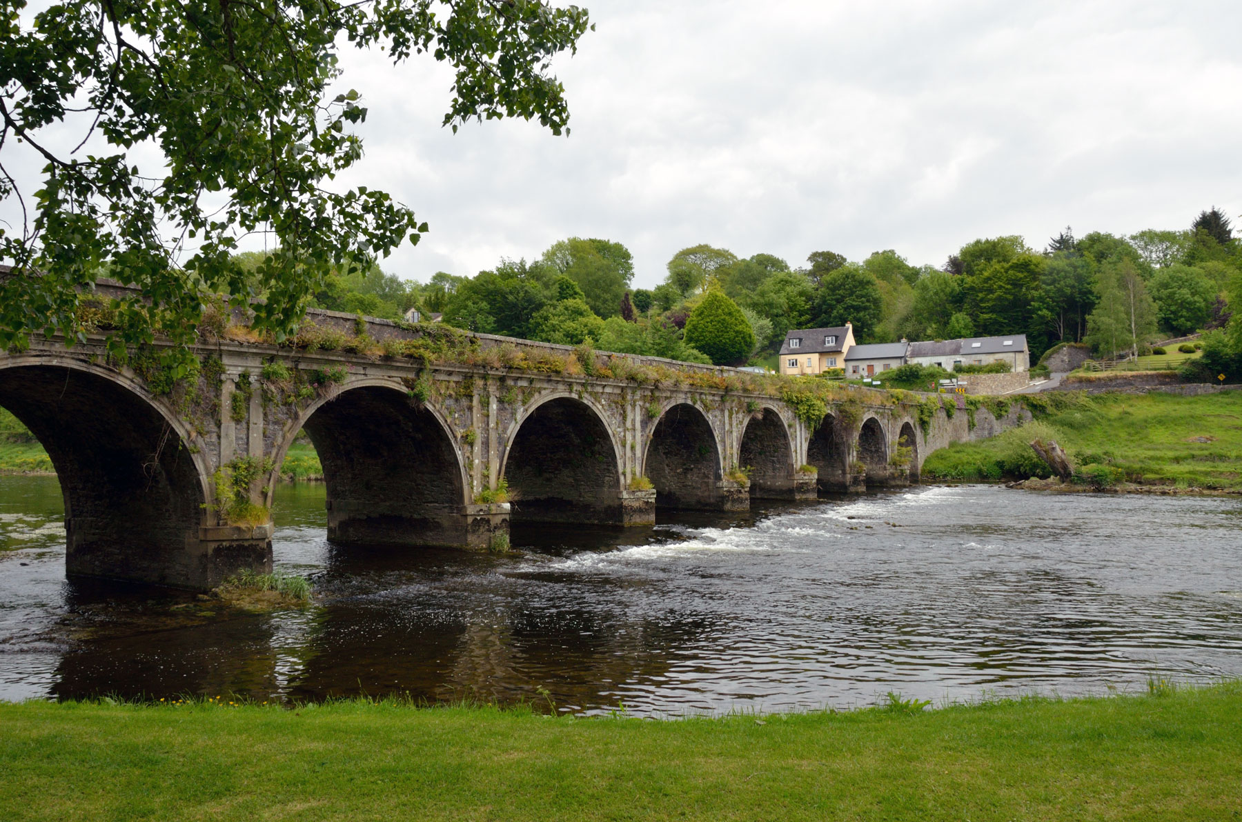 Bridge over river in Irish midlands